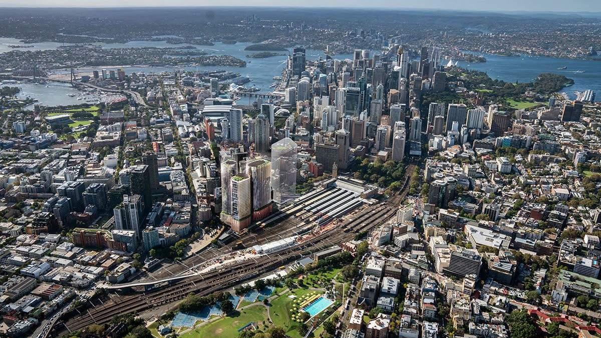 Город в городе: в центре Сиднея возведут два экологических небоскреба – фото