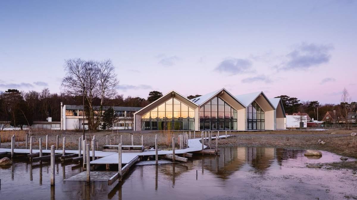 В гармонії з природою: на острові в Данії відкрили екологічний готель – фото