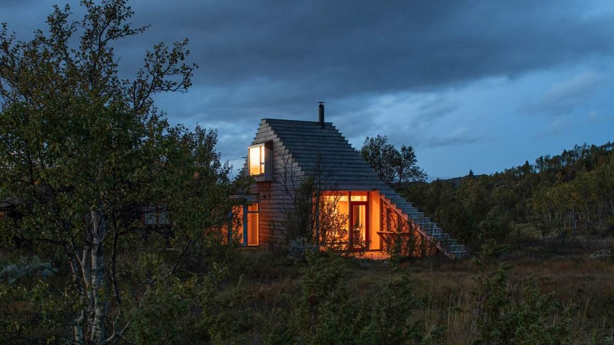 В виде лыжной трассы: в Норвегии построили интересный домик – фото