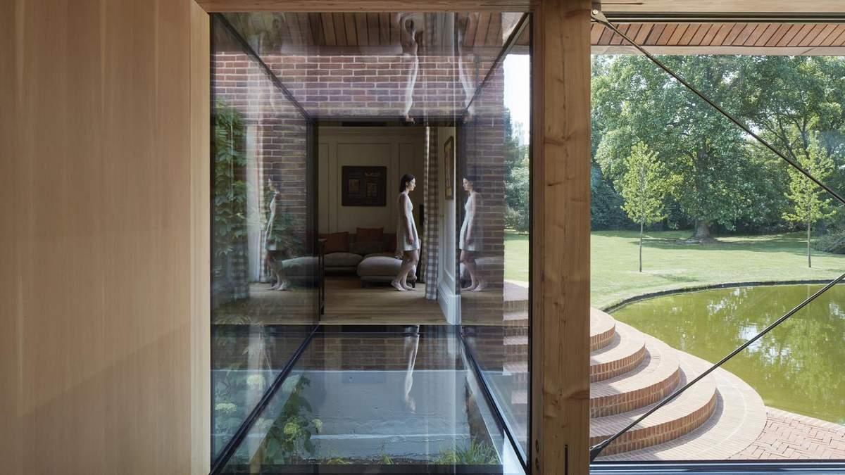 Дом на воде – проект и фото гостевого комплекса в Великобритании