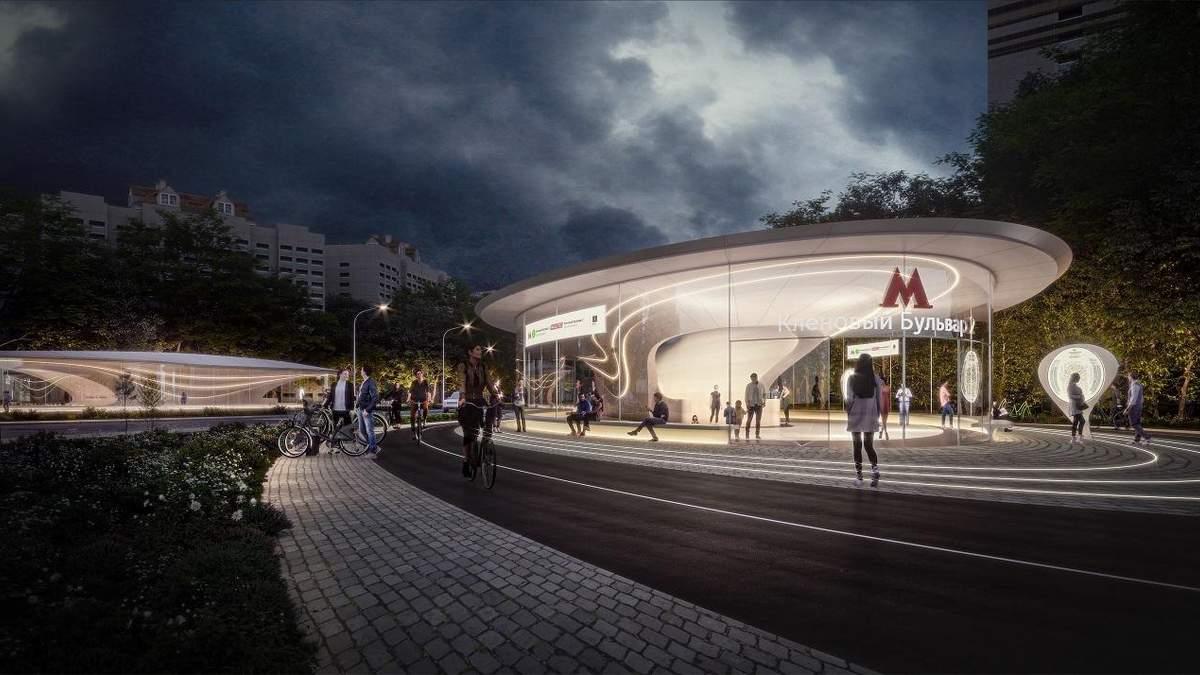 Архітектори Захи Хадід побудують сучасну станцію метро в Москві – фото проєкту