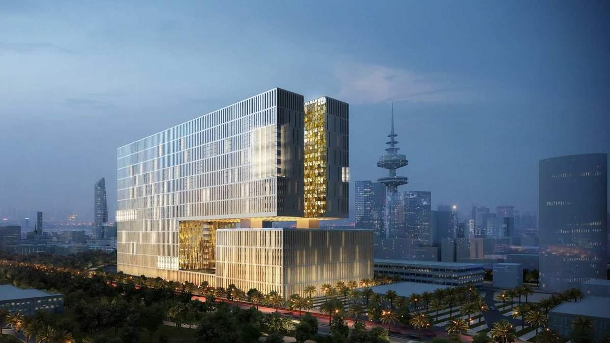 Как будет выглядеть самое высокое и самое большое судебное здание в мире: фантастические фото