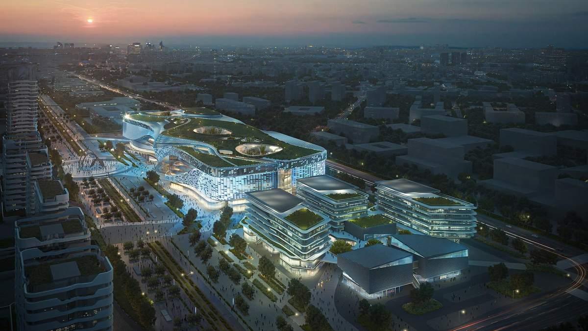 В Китаї перероблять старий військовий аеропорт на офісний комплекс: фантастичні фото