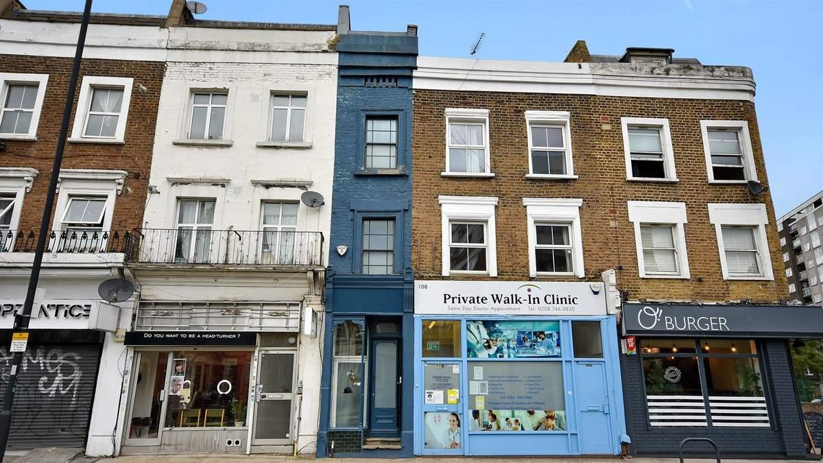 В Лондоне выставили на продажу дом шириной в полтора метра – невероятные фото