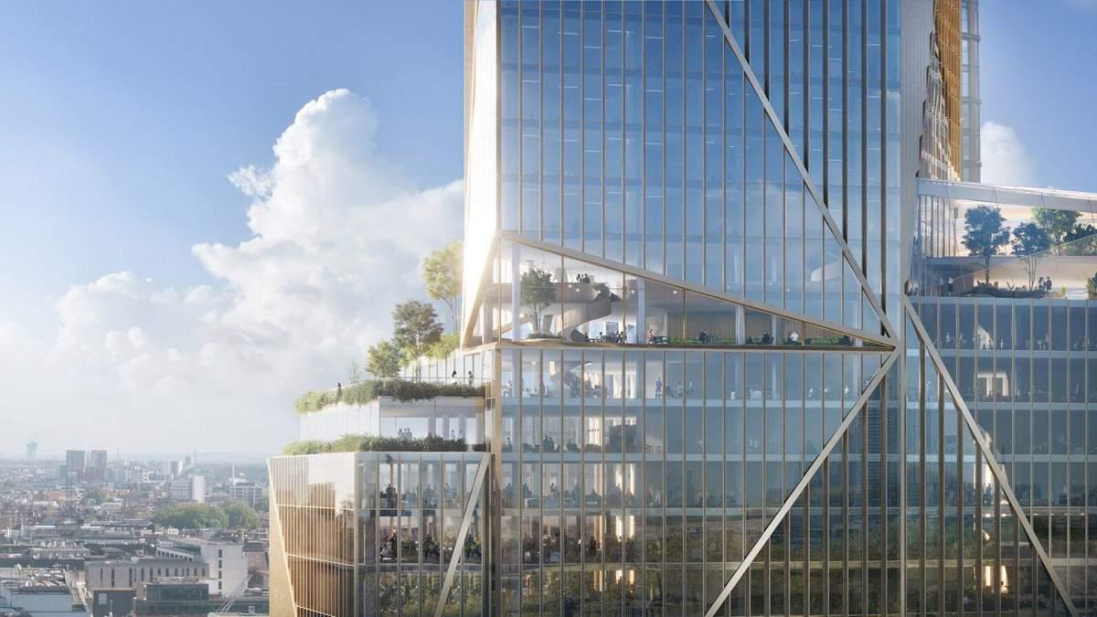 Зі стильним фасадом: в центрі Лондона з'являться два хмарочоси – фантастичні фото проєкту