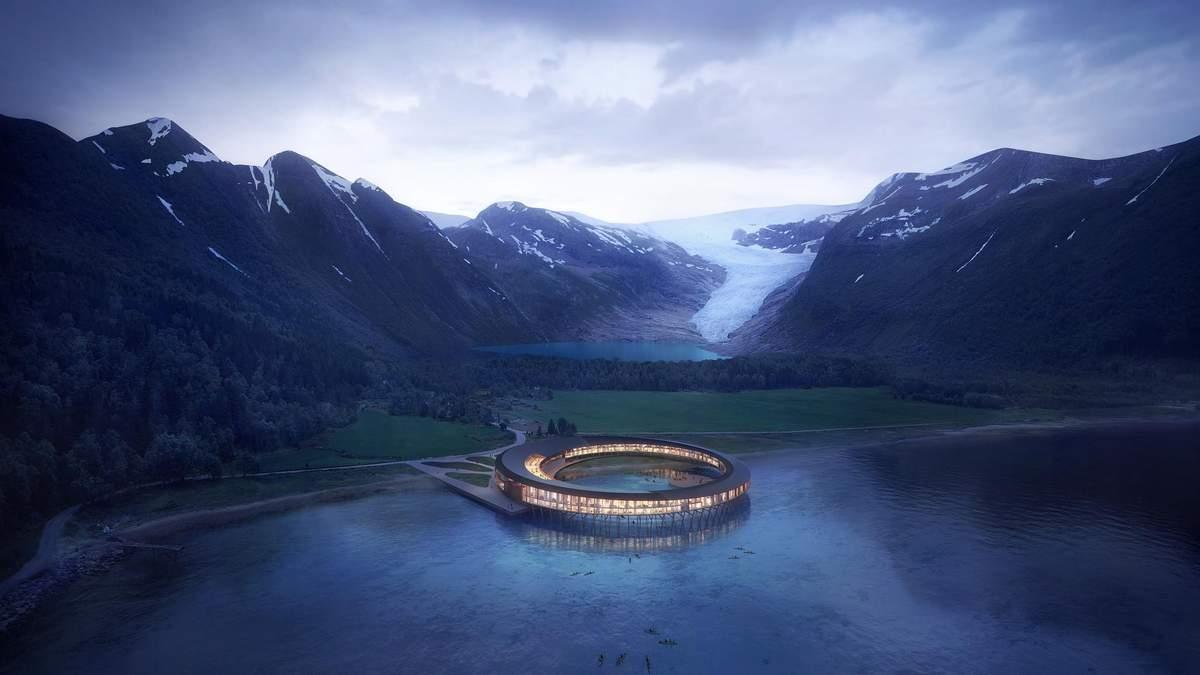 Найекологічніший готель за Полярним колом: фантастичні фото дерев'яного проєкту з Норвегії