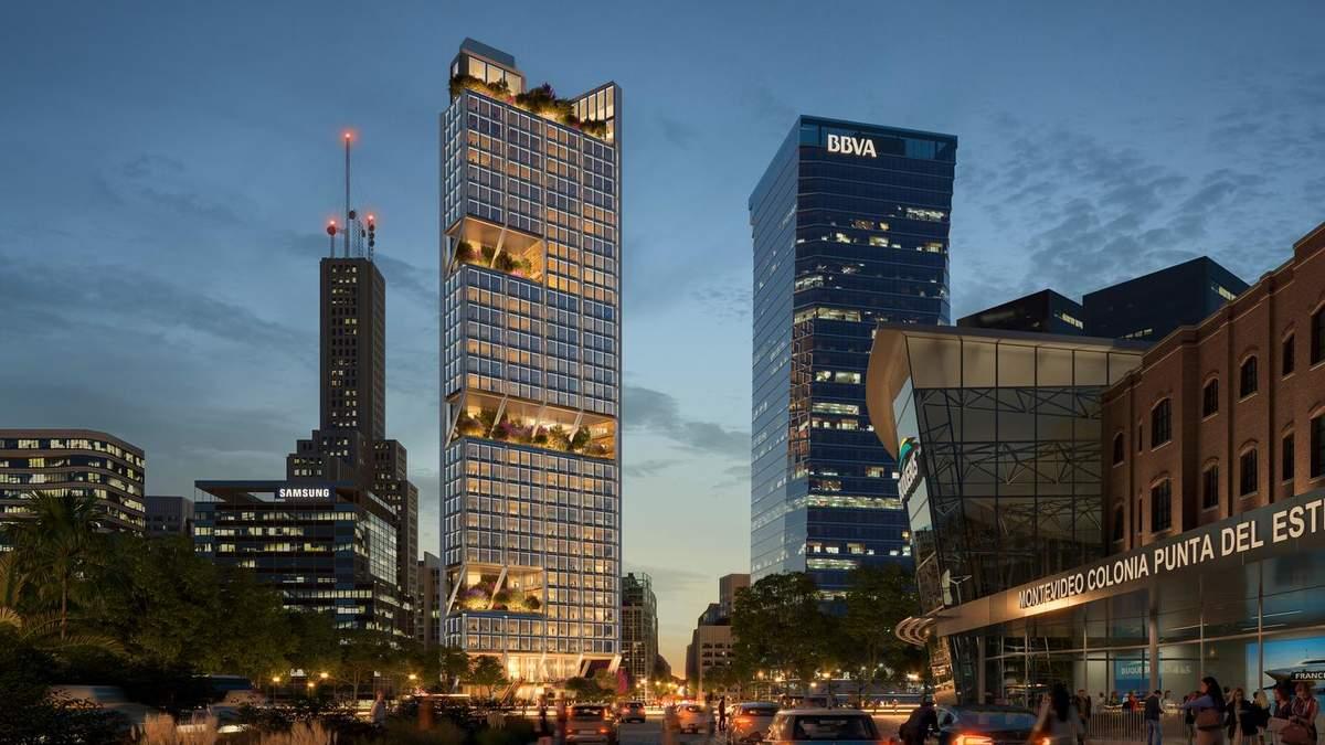В форме треугольника: в Аргентине начали строительство большого офисного небоскреба – фото