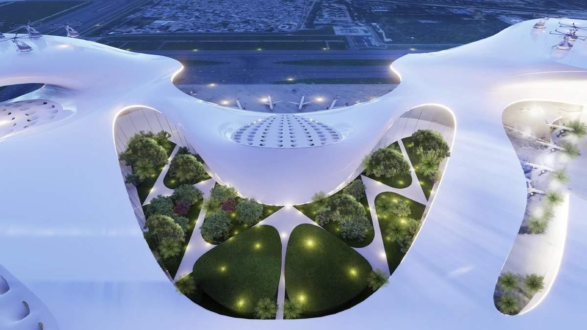 Аэропорты будущего: 3 лучших проектов от студентов со всего мира – фото