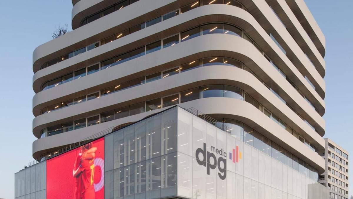 На хвилі новин: проєкт сучасного офісу для DPG Media з Нідерландів – фото