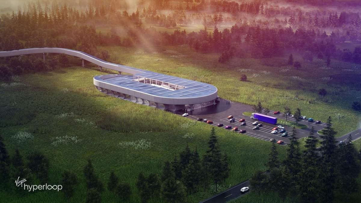 Hyperloop в майбутньому може серйозно скоротити час подорожей