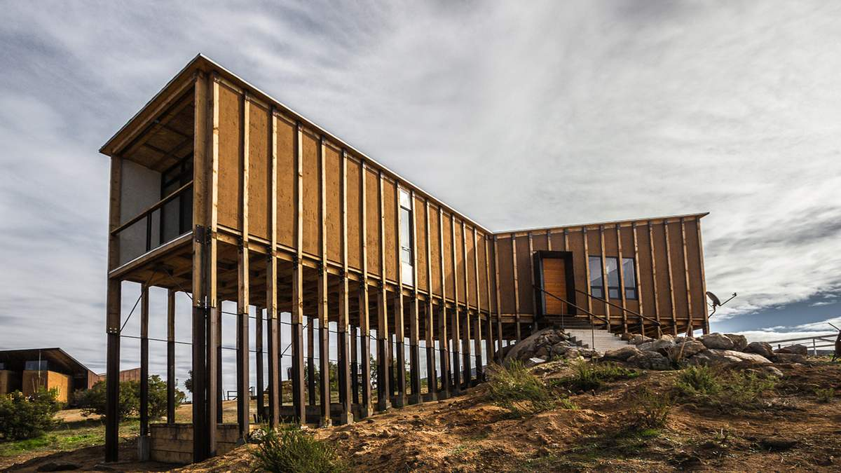 Дом без фундамента: интересное архитектурное решение из Мексики – фото