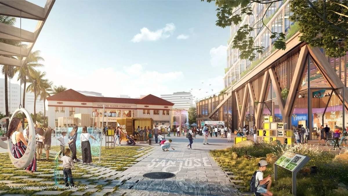 Google предлагает полностью переделать центр города в США: детали и фото проекта
