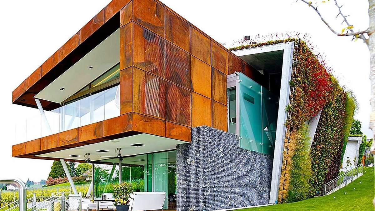 Будинок в будинку: в Швейцарії побудували багатошарову ековіллу – фото
