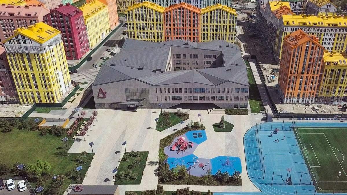 Вам захочеться тут вчитись: в Києві побудували екологічну гімназію на 600 дітей – фото