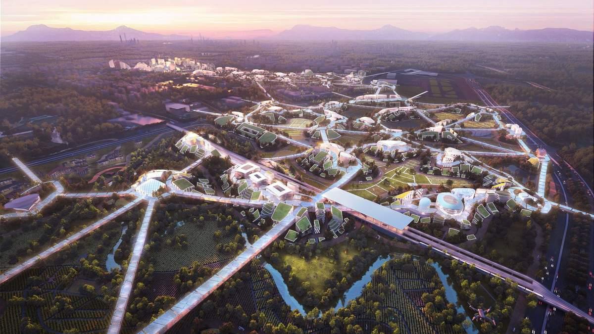 Кремниевая долина по-китайски: на юге страны построят технологический город – фото проекту