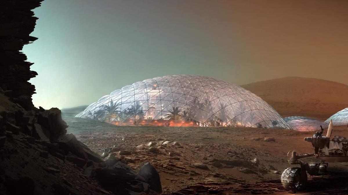 Красная планета: 4 архитектурные проекты на Марсе из обычных строительных материалов – фото
