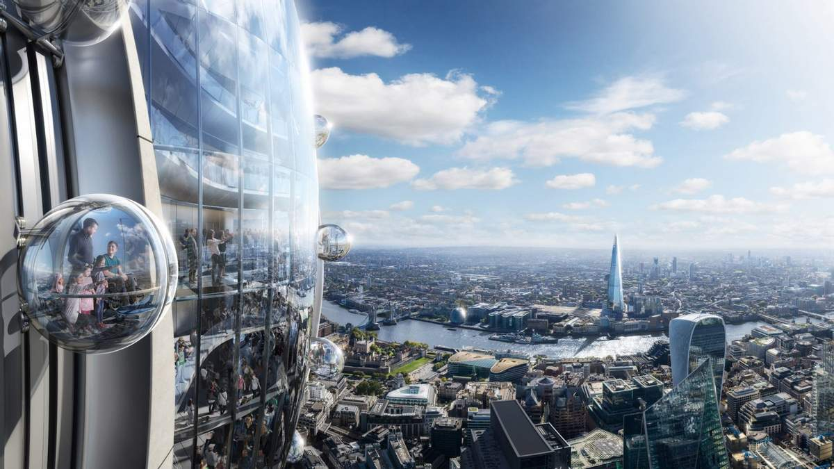 """Відновитися після пандемії Лондону допоможе """"Тюльпан"""", – архітектурний голова міста"""