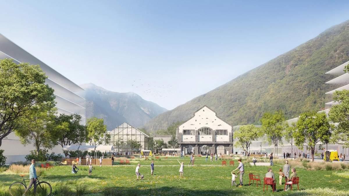 """""""Зелений кілометр"""": в альпійському містечку промислову зону перетворять на комерційний парк"""