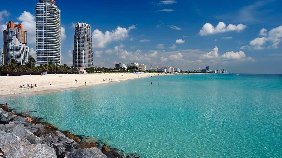 Пляж в Маями