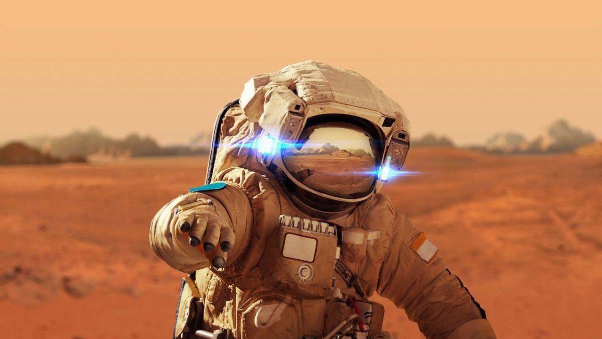 Первые дома на Марсе