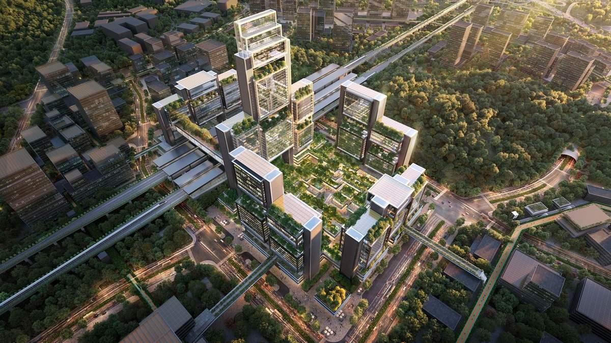 Новый транспортный хаб будет высокую ценность для инфраструктуры Китая