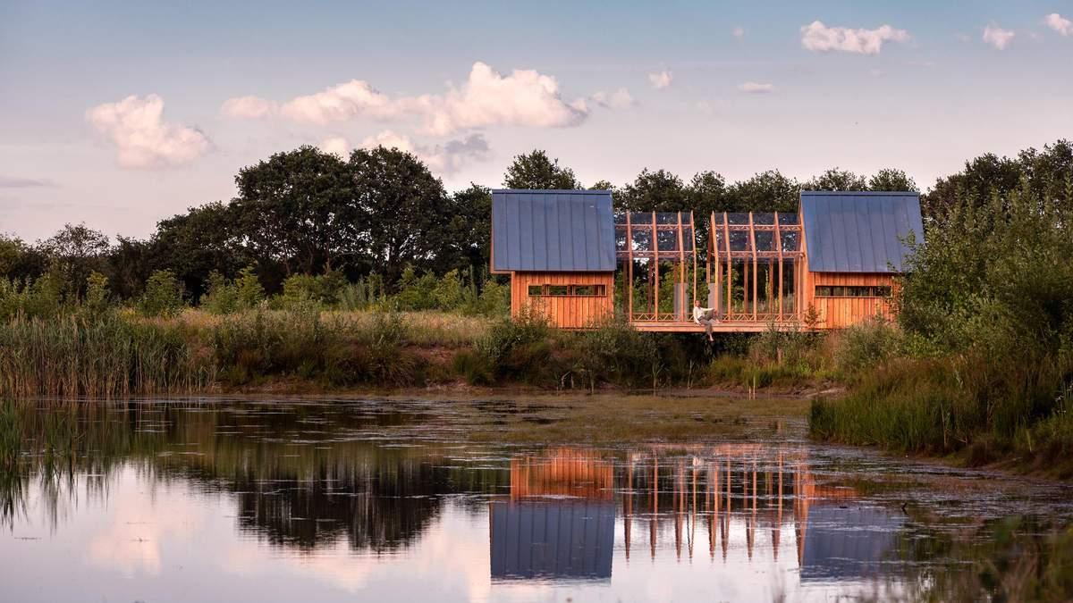 Будинок-розкладачка: дизайнер створив будівлю, яку можна реконструювати за кілька годин – відео