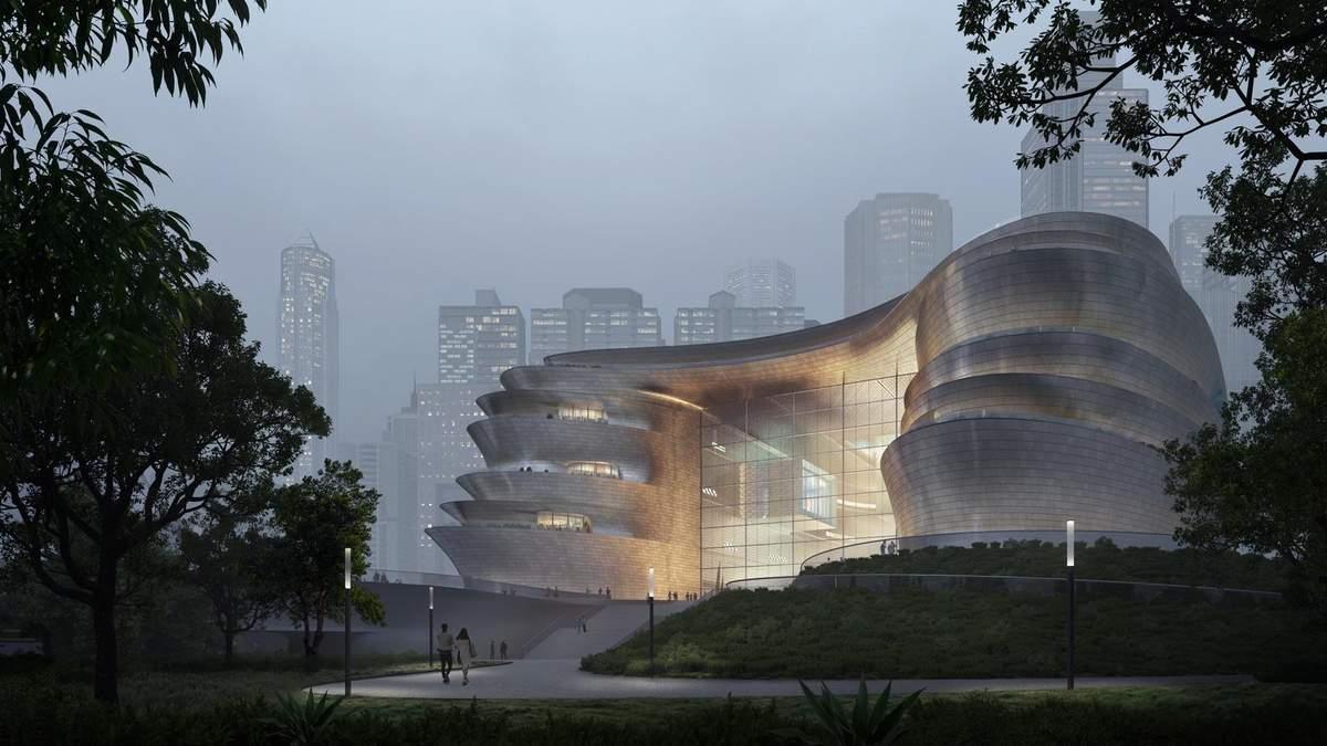Масштабний та інноваційний: бюро Захи Хадід представило проєкт музею науки в Китаї – фото
