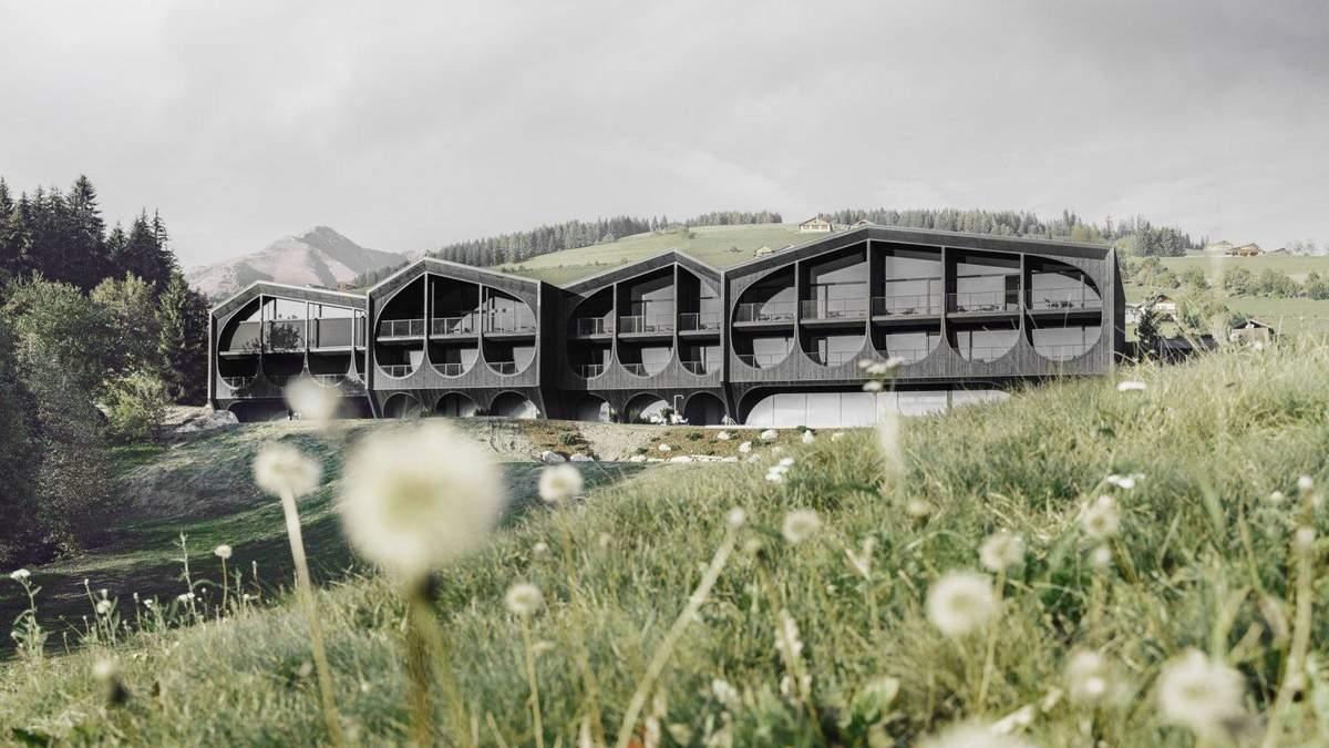 Аграрна архітектура: в Італії побудували готель з мотивами сільського господарства – фото
