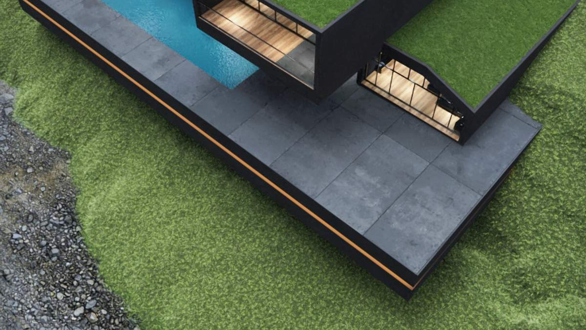 Чорна вілла серед парку: яким може бути сімейний будинок – фото