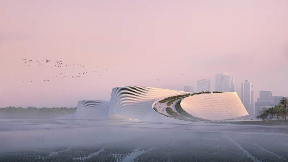 В лучших традициях Азии: новый музей в Шэньчжэне вызывает восторг – фото