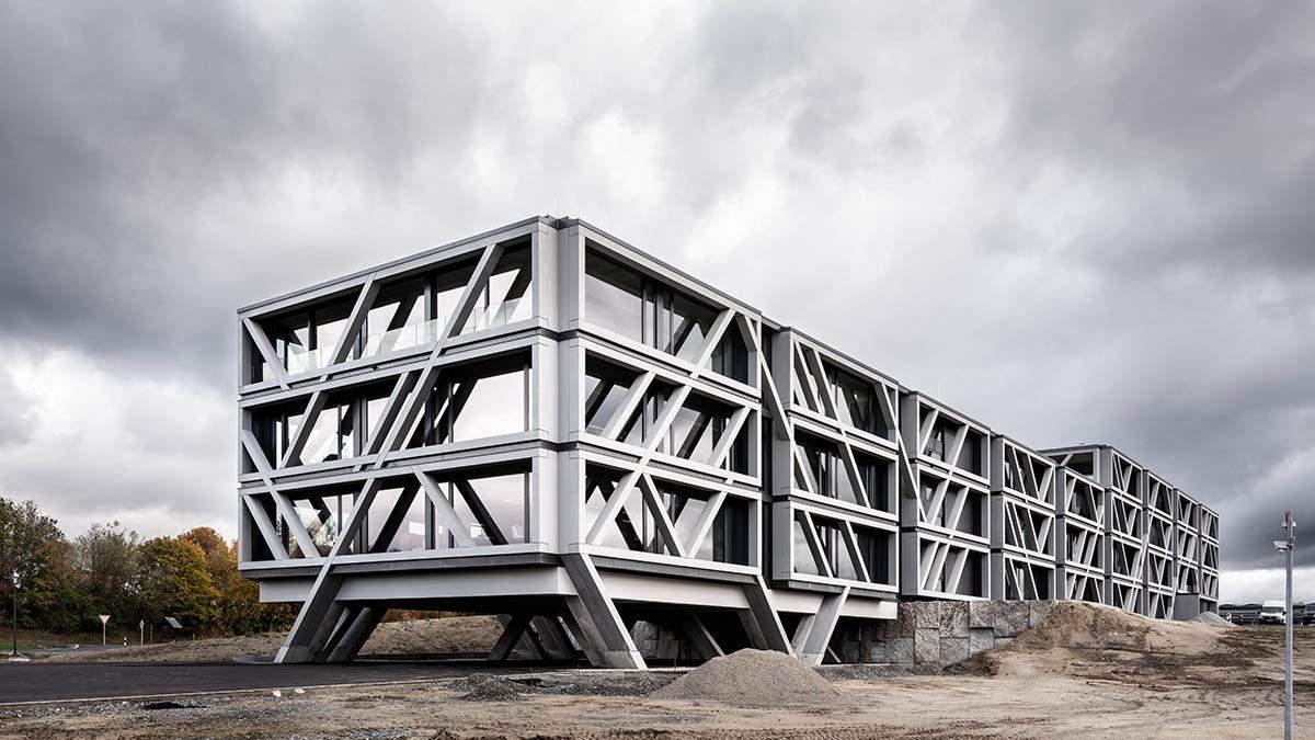 Строгость и минимализм: как выглядит кампус будущего в Германии - фото