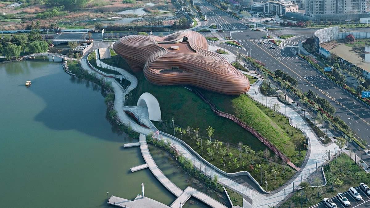 Плавність форм та загадковий дизайн: у Китаї з'явився незвичний музей – фото