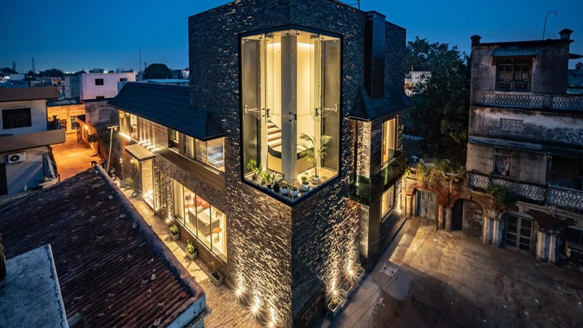 Скрытый особняк: как в Индии переосмысливают архитектурные традиции – фото