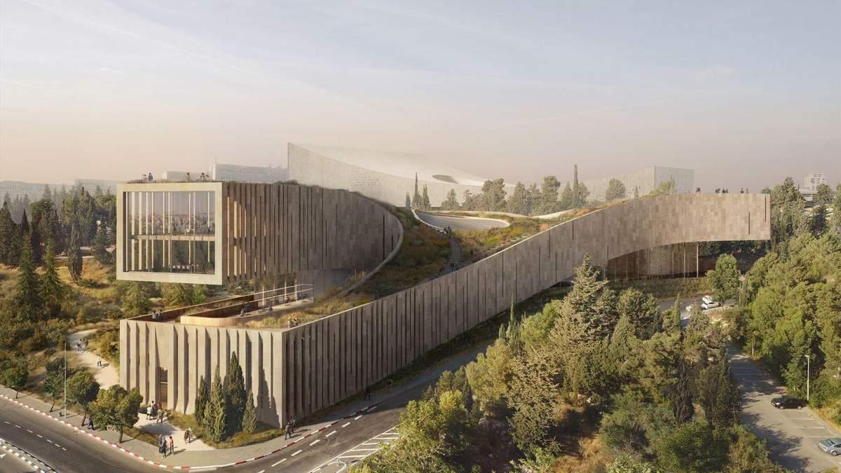 Гнучкість форм та простору: як виглядатиме Академія івриту в Ізраїлі – фото