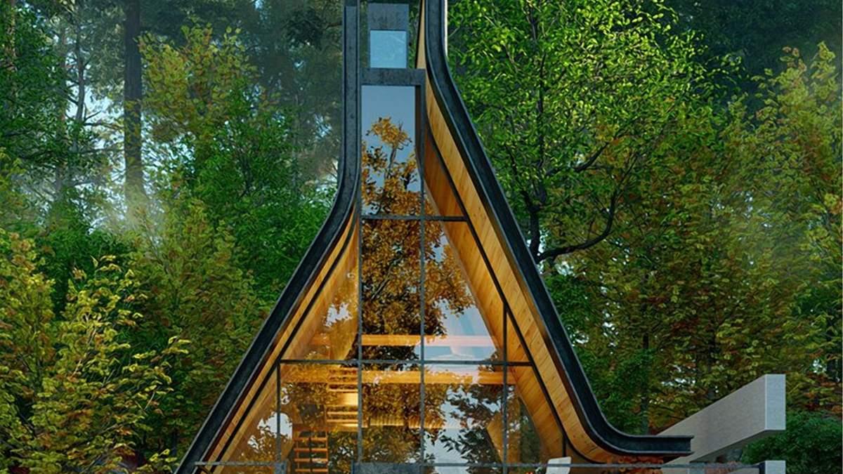 Посеред дикої природи: унікальна дерев'яна хатина у перському лісі – фото