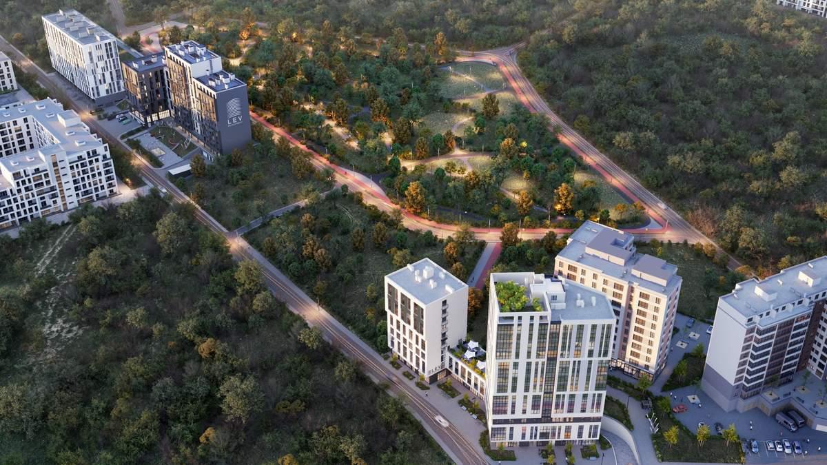 Сила природи поруч із домом: чому варто придбати житло поруч з парком