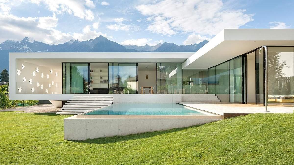 Итальянская изысканность: фото роскошной виллы с садом и бассейном