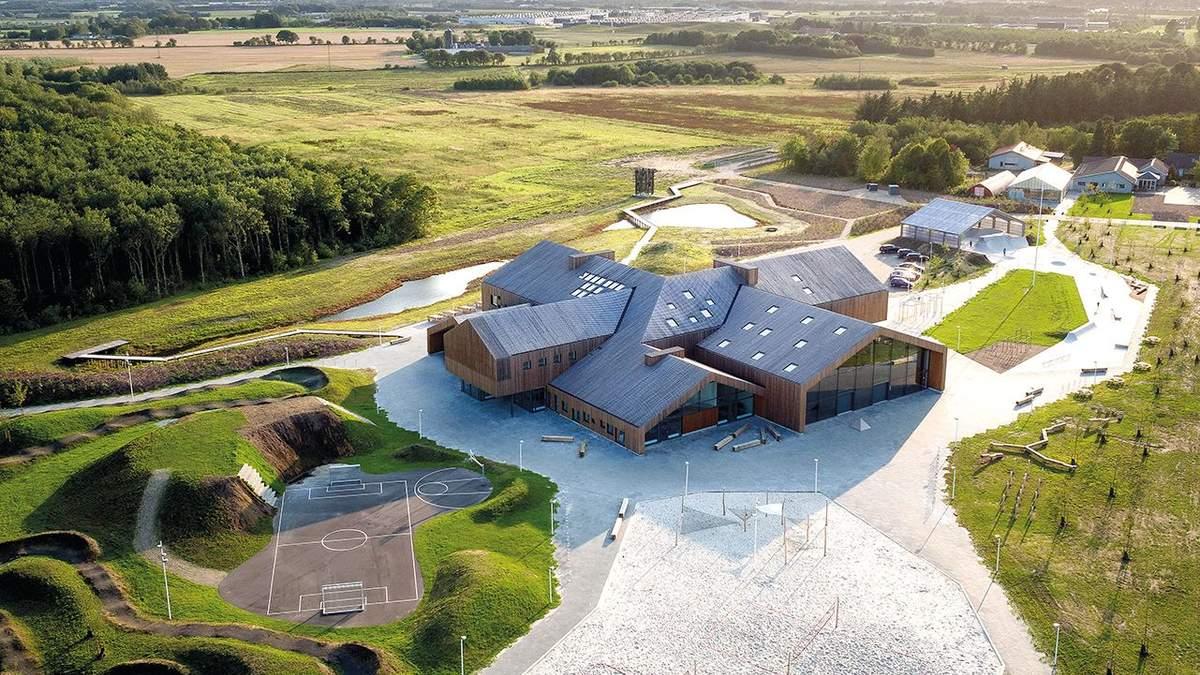 Дитячий захват: у Данії спроєктували фантастичний міський центр – фото