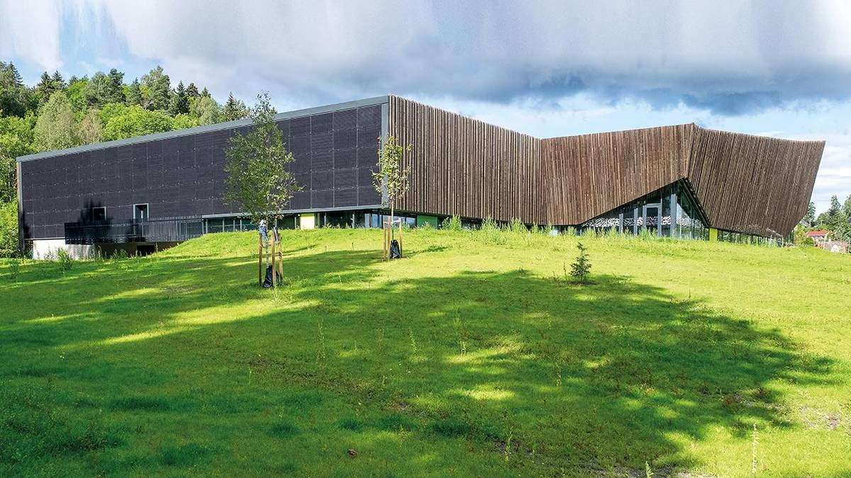 Интеграция в окружающую среду: как выглядит новый центр водных видов спорта в Норвегии – фото