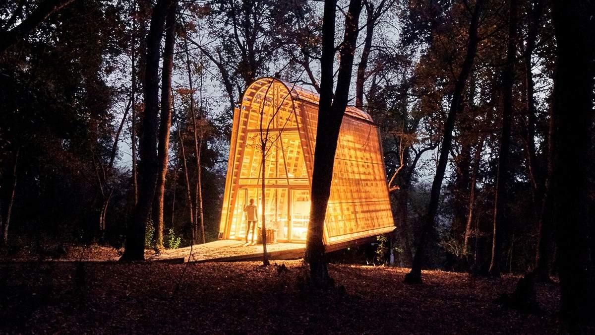 Лесная магия: в Чили спроектировали дом, о котором хочется помечтать – фото