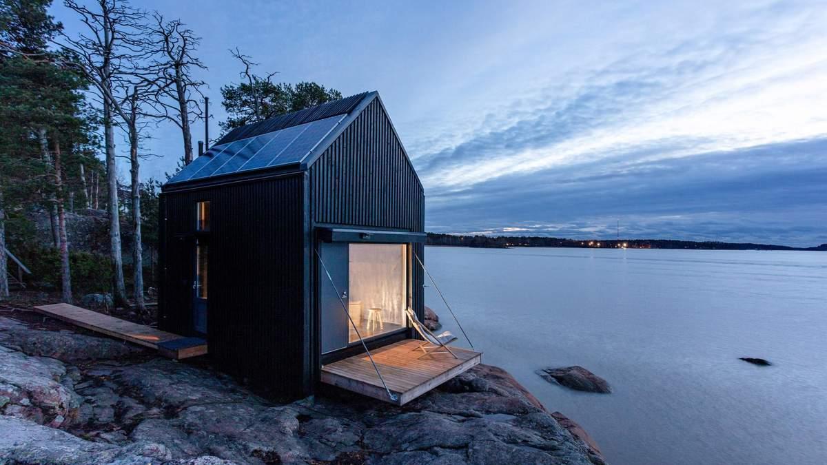 Маленька мрія на березі моря: затишна кабіна для самотнього відпочинку – фото