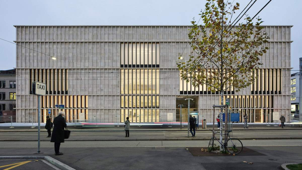 Красота монолита: как выглядит новый художественный музей Цюриха – фото