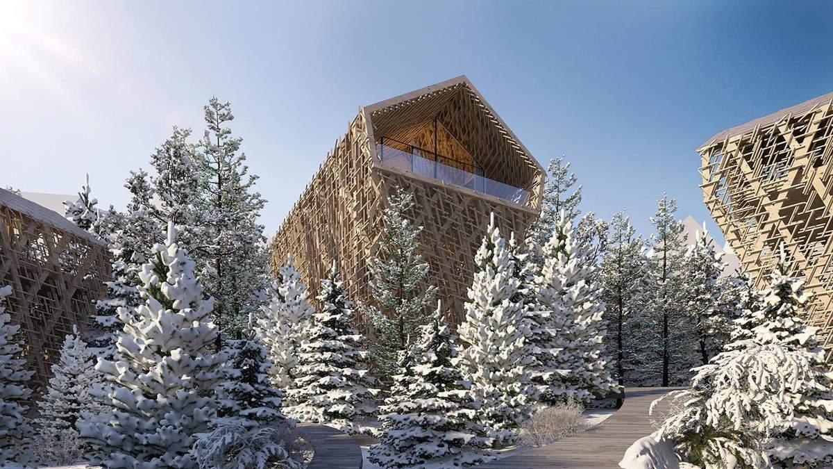 Острівець зимової казки: фото чарівного місця для зимових святкувань