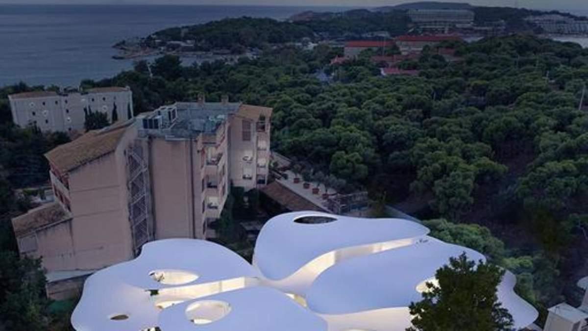 Резиденція метеликів: у Греції створили казковий житловий комплекс – фото