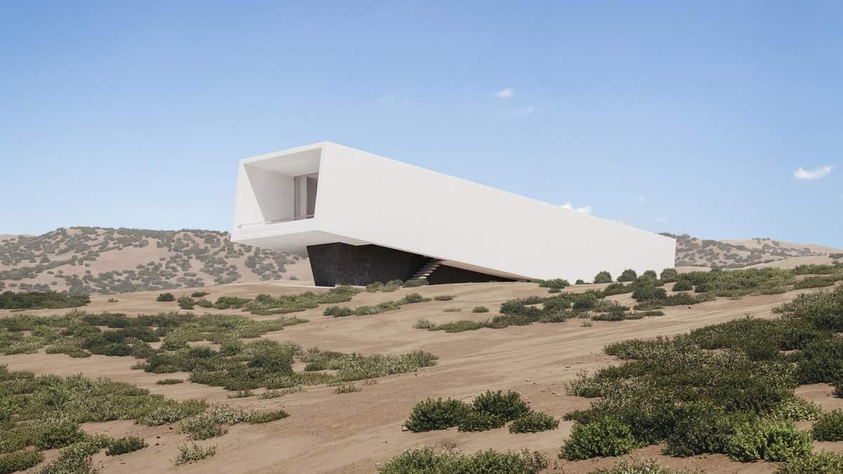Прихисток посеред дюн: у Греції спроєктували чарівний дім – фото