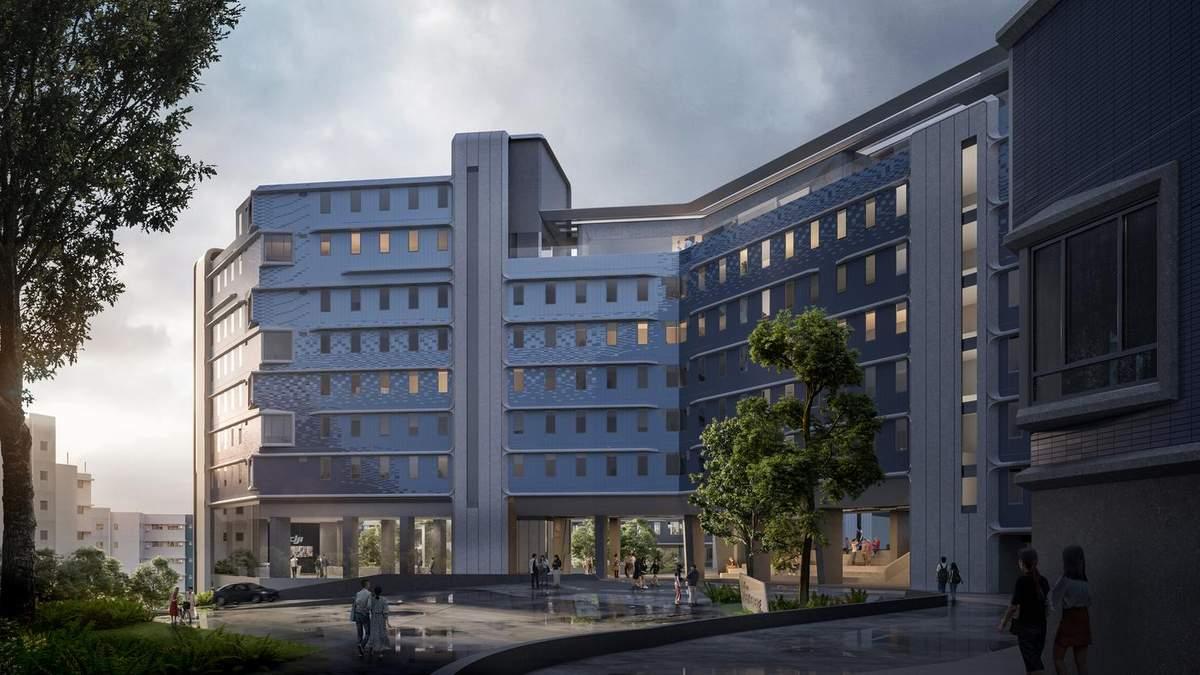 Наука и технологии: как выглядит новый жилой комплекс университета Гонконга – фото