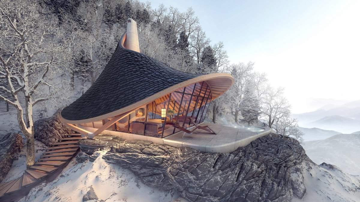 Прихисток на гірському острові: як виглядає унікальний крихітний терем у Японії – фото