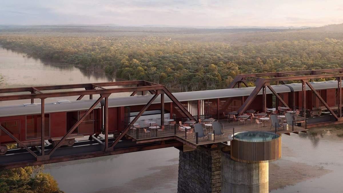 Отдых на вершине моста: фото уникального отеля в Южной Африке