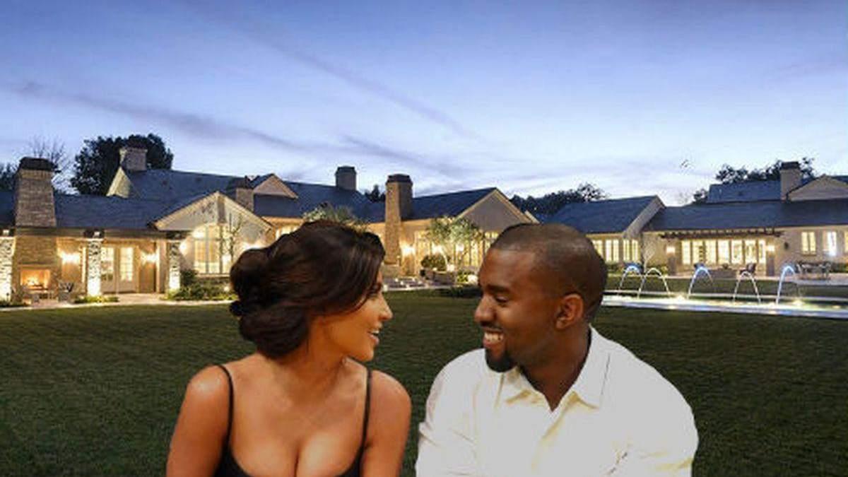 Империя собственности самой известной пары в мире: впечатляющие фото домов Ким и Канье