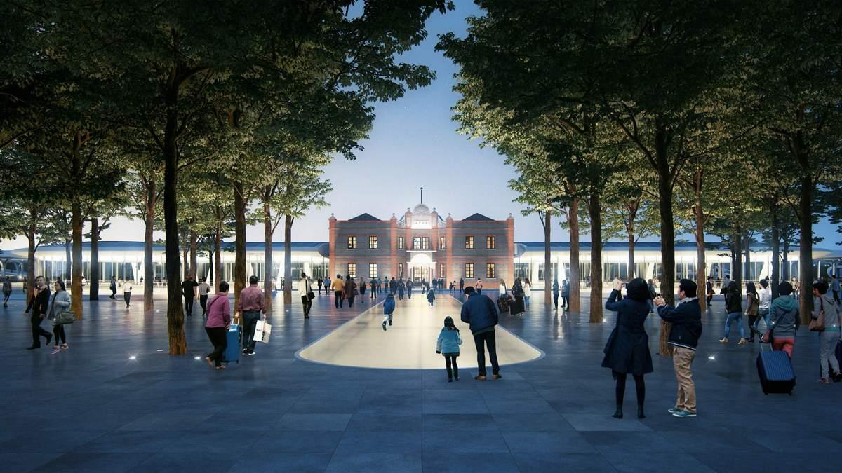 Комфорт майбутнього: у Китаї добудовують фантастичний залізничний вокзал –фото